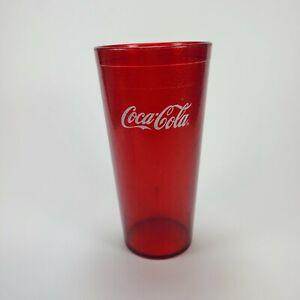 Coca-Cola Red Plastic Restaurant Tumbler Carlisle 20 oz