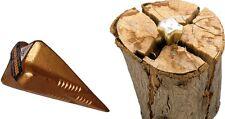 Spaltgranate 1600g Spaltkeil Holzspaltkeil Holzspalter Stahl Spaltwerkzeug Holz