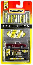 Matchbox World Class Series 3 Premiere Collection '62 Corvette Red New On Card