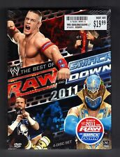 WWE: Raw and Smackdown - The Best of 2011 (DVD, 2012, 4-Disc Set)
