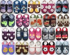 Chausson bébé chaussons enfant chaussures cuir semelle Minishoezoo 25/26 EUR