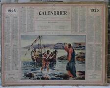 Vintage FRENCH Calendar 1925 Almanac - Jesus - The vocation of Saint Peter