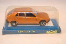Solido 1309 Renault 14 bronze 1: 43 mint in box superb 17e