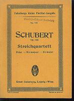 Schubert : Streichquartett - B-Dur Op. 168 ~ Studienpartitur