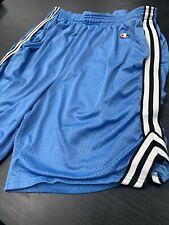 North Carolina Blue Champion Mesh Basketball Shorts UNC Tar Heels  - Men's Large
