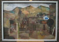 Alfred Hetz (1913 - 74 Steisslinger Willi Baumeister ) - Landschaft in Italien