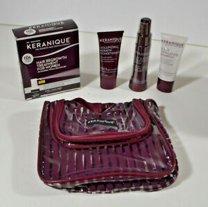 Keranique Hair Regrowth System, Shampoo, Cond., and Repair & Lift Spray Exp 8/22