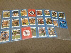 43 X 1989 STIMOROL NSWRL NRL RUGBY LEAGUE CARDS