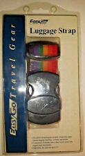 Rainbow Adjustable Security Luggage Strap Baggage Belt ~ Easy Go Travel ~ NEW