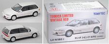 TOMICA /TOMYTEC LV-N182b Honda Civic SiR II reinweiß 1:64