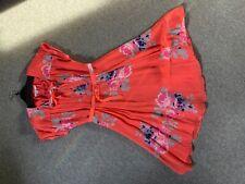 Boden Coral Tea Dress Size 10