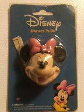 DISNEY MINNIE MOUSE DRAWER / DOOR PULL KNOBS CHILD ROOM DECOR