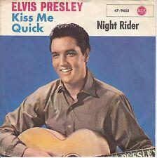 7 45 Elvis Presley - Kiss Me Quick RARE Rock'n'Rol Single RARE