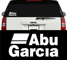 Abu Garcia Fishing Reels & Rods Outdoors Vinyl Decal Sticker White