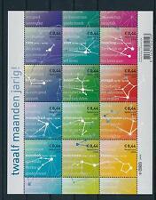 [16980] Netherlands Niederlande 2008 Zodiac Constellations SS MNH NVPH 2581-92