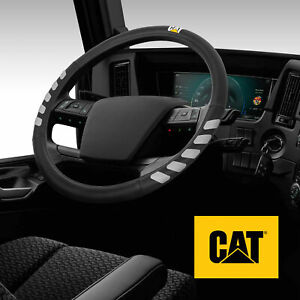 "CAT Ergonomic Steering Wheel Cover Heavy Duty Rig Trucks Semis X Large 17.5-18"""