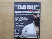 """Babu Bjj Mastermind Series (Dvd) Sergio """"Babu"""" Gasparelli"""