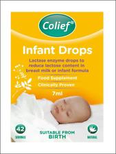 Colief neonato cade. gocce enzima lattasi per ridurre il tenore di lattosio. 42 porzioni