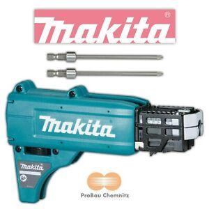 Makita Magazinaufsatz + 2 Bits für Akku Schnellbauschrauber DFS452 Vorsatz 25-55