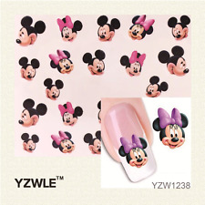 Nail Art Sticker Water Decals Transfer Stickers Mickey & Minnie Mouse (YZW1238)