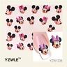 Nail Art Sticker Water Decals Transfer Stickers Mickey & Minnie Mouse (YZW1238)