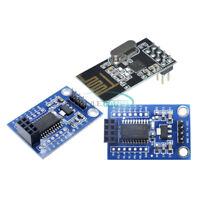 STC15F204 MCU Wireless Development Board + NRF24L01+ Wireless Serial Module