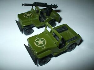 Matchbox Lesney Superfast #38 Military Jeep with/without gun NMINT!