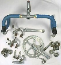 """Vintage 1980s CAMPAGNOLO """"Nuovo Record"""" Italian Bicycle Build Kit or Group Set"""