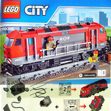 Lego Heavy-Haul Train 60098 BOOK 1 only Diesel Engine Locomotive+Power Functions