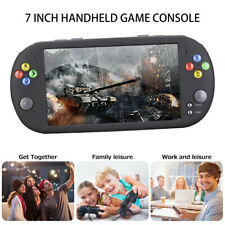 "7"" inch Handheld Video Game 32 Bit Built-In 1500 Games Portable Console Player"