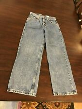 Junior's Size 12 Levi 550 Relaxed Fit Jeans 26""