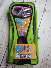 Body Glove Kids Snorkel Set-Girls shoe size L/XL 1-4