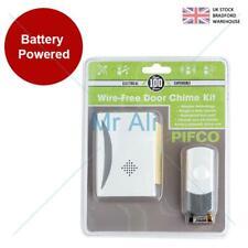 Single wireless door bell 24 chime cordless portable 50m free range