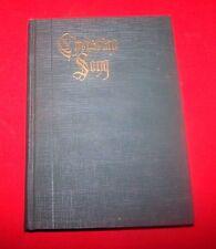 "*1926* 1st Edition ""Christian Song"" Louis F. Benson D.D. VG+++"