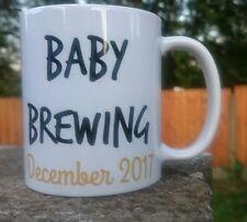Gravidanza Personalizzati Baby Shower Nuovo bambino regalo bambino della birra tazza caffè tè