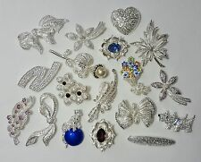 Napier - Brooches - Lot of 5 _ MSRP $125 _ silver jewelry pin lot