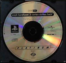 CRASH BANDICOOT 2: CORTEX STRIKES BACK - PLAYSTATION 1 - PAL ESPAÑA - SOLO CD
