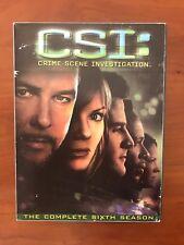 CSI: Crime Scene Investigation - The Complete Sixth Season