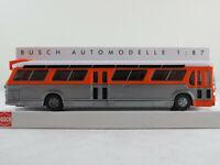 Busch 44512 Amerik. Bus Fishbowl (1959) mit Schilderausstattung 1:87/H0 NEU/OVP
