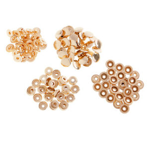 30s copper snap fasteners rivet button refills for fabric, leather