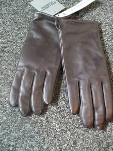 Ladies Totes Isotoner brown gloves NEW  size L