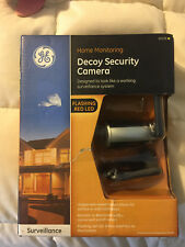 NEW GE HOME MONITORING DECOY SECURITY CAMERA SURVEILLANCE FLASHING RED LED