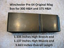 Winchester Pre 64 Model 70 Magnum Box - 300 H&H and 375 H&H - Win Part # 8770