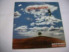 O.S.T. - I GIORNI RANDAGI - LP VINYL 1988 - ITALY PRESS - ENRICO RUGGERI
