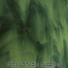 Bullseye Olive Green, Forest Green Kiln Fusing Glass 90coe 2212-30
