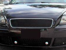 VOLVO S40 V50 2004 - 2007 MESH Sport Grill Grille ALL MATTE BLACK & CHROME FRAME