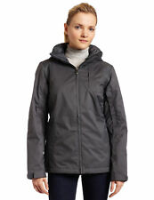 Columbia Gray Apres Alley Omni Tech Waterproof Hooded Ski Snow Coat Jacket M