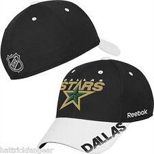 Dallas Stars Reebok Mo76Z Nhl Pro Shape Hockey Practice Cap Hat L/Xl