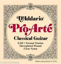 Juego de cuerdas guitarra española D ' Addario Pro Arte EJ45