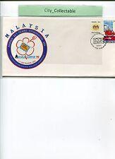 MALAYSIA EXH. COVER * KUALA LUMPUR '92 * POST MALAYSIA DAY 6/9/92  # R066
